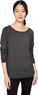 Daily Ritual Amazon Brand Women's Terry Cotton and Modal High-Low Sweatshirt