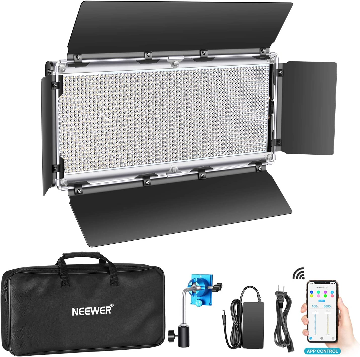 Neewer 1320 famous LED Video Light Our shop OFFers the best service APP with Intelligent System Control
