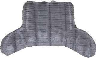 Brentwood Originals 907 Back Rest Pillow, Backrest, Grey