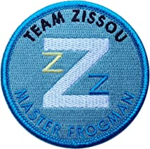 Master Frogman Life Aquatic Team Zissou Shirt Costume Embroidered Patch - By Titan One