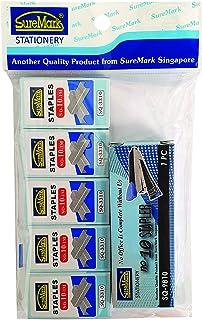 Suremark SUR-SP-SQ9810/3310 No. 10 Stapler W/5's No. 10 Staples 9cmx15cm
