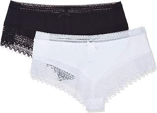 DIM Women's 042K-Black (0CA) Boy Shorts