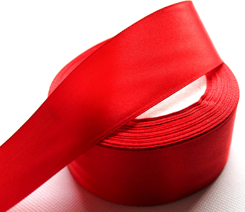 CaPiSo/® Ruban de satin pour d/écoration de No/ël 4 cm