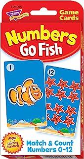 トレンド 英単語 カードゲーム ゴーフィッシュ 同じ数を集めよう Trend Numbers Go Fish Challenge Cards T-24005