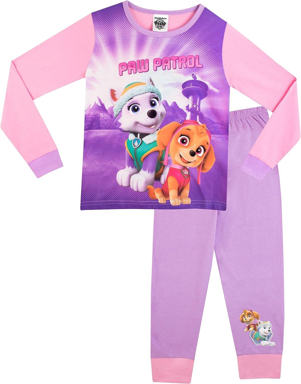 Filles Paw Patrol Pyjama Pyjama Âge 4-5 Ans Cadeau Hiver Skye à manches longues
