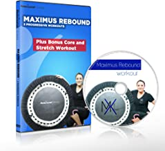 Maximus Rebound - Mini Trampoline DVD Workout Compilation. Includes 3 Progressive Motivating, Fun Rebounding Fitness Workouts - to Help You Lose Weight & Tone Up! Plus Bonus Core & Stretch Workout.