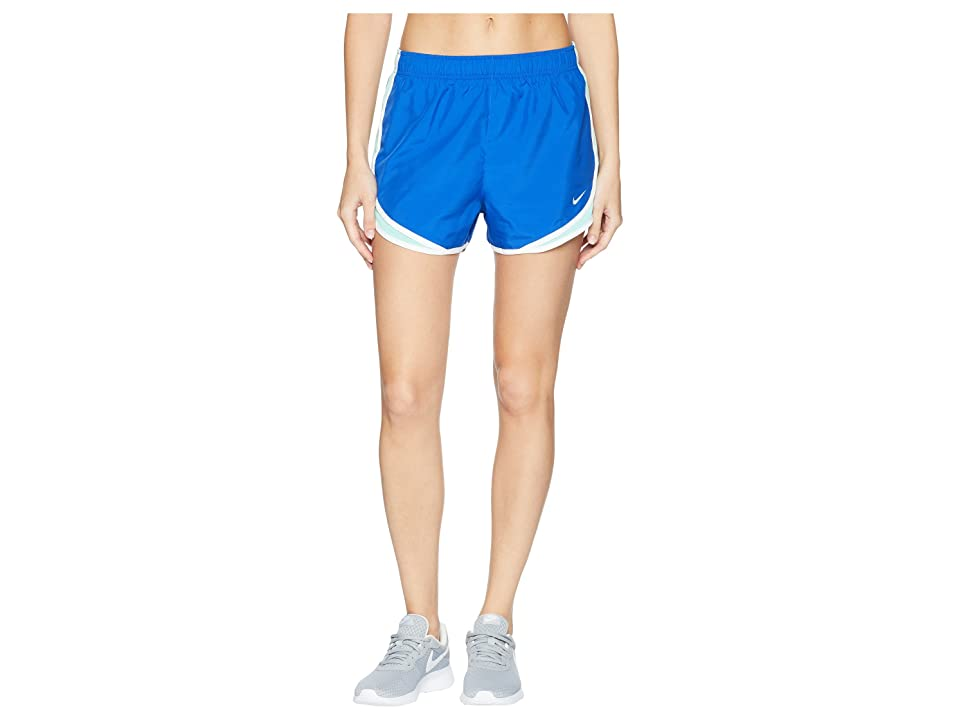 Nike Dry Tempo Short (Game Royal/Emerald Rise/White/Wolf Grey) Women