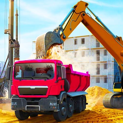 Bau Stadt Bau Tycoon Simulator 3D: Insel Paradise Bay Gebäude Abenteuer Spiele Kostenlos für Kinder 2018