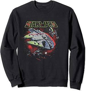 Star Wars Millennium Falcon Battle Scene Sweatshirt