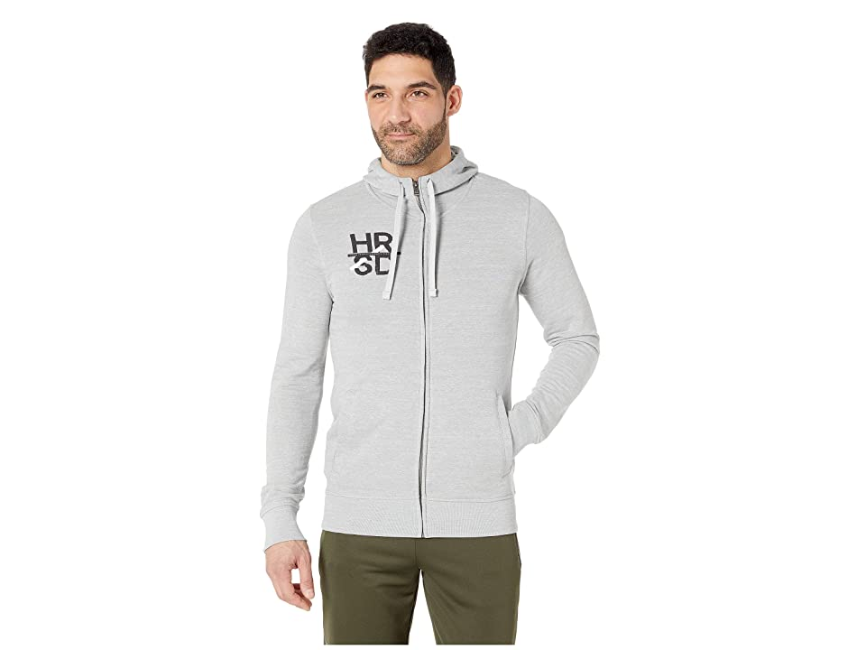 Reebok UFC Full Zip Hoodie (Skull Grey) Men