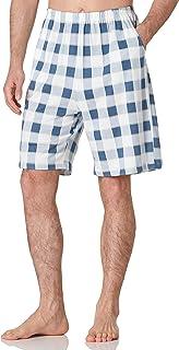 Amazon Brand - HIKARO Men's Shorts Pyjama Bottoms Cotton Nightwear Lounge Wear PJ Bottoms