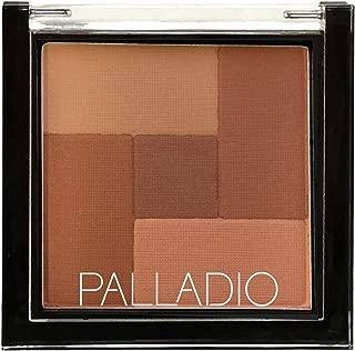 Palladio 2-In-1 Mosaic Powder Blush & Bronzer, Spice
