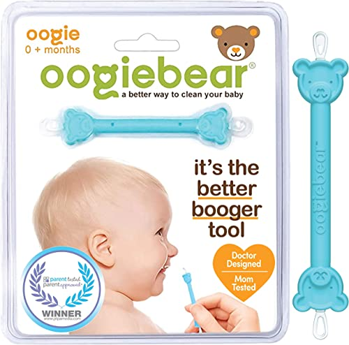 oogiebear - The Safe Baby Nasal Booger and Ear Cleaner - Baby Shower Registry Essential | Easy Baby Nose Cleaner Gadg...