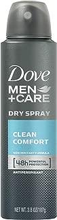Dove Men+Care Dry Spray Antiperspirant Deodorant, Clean Comfort, 3.8 oz