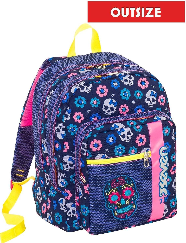 sac à dos Seven OutTaille Mexi Girl bleu