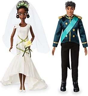 Disney Tiana and Naveen Classic Wedding Doll Set - The Princess and The Frog
