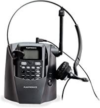 Plantronics 80057-11 CT14 Cordless Headset Phone, Black photo