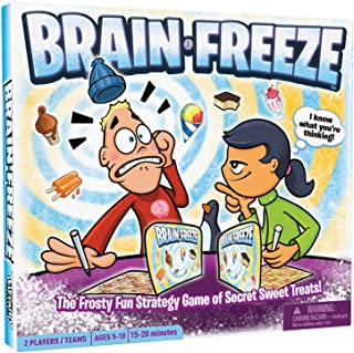 Brain Freeze, Award-Winning Board Game for Kids and Families, Fun and Educational Game to Learn Strategy, Logic, Deduction...
