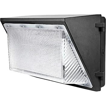 Bronze Finish Standard Type 1015865 Cool 125W 5000 K RAB Lighting WPLED2T125 Ultra High Output//Efficiency LED Wallpack Color Temperature