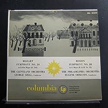 George Szell, The Cleveland Orchestra & Eugene Ormandy, The Philadelphia Orchestra - Mozart Symphony No.39 In E-Flat Major...