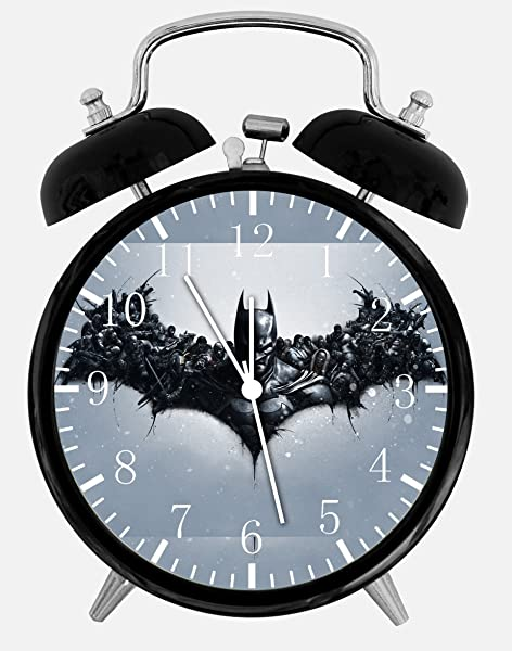 Batman Twin Bells Alarm Desk Clock 4 Home Office Decor E58 Nice For Gifts