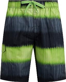 Kanu Surf Mens Mirage Swim Trunks (Regular & Extended Sizes)