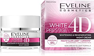 EVELINE WHITE PRESTIGE 4D INTENSIVE WHITENING NIGHT CREAM 50ML