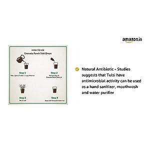 Emeveta Herbal Organic Pure Panch Tulsi Ark D...