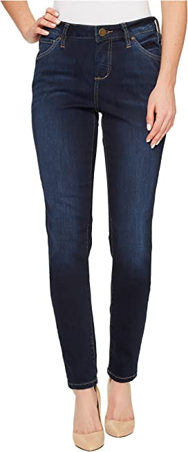 3ced3cccb85b Jag Jeans Gwen High-Rise Skinny in Lush Sateen at 6pm