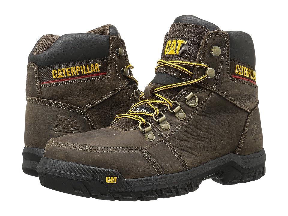 Caterpillar Outline ST (Seal Brown) Men