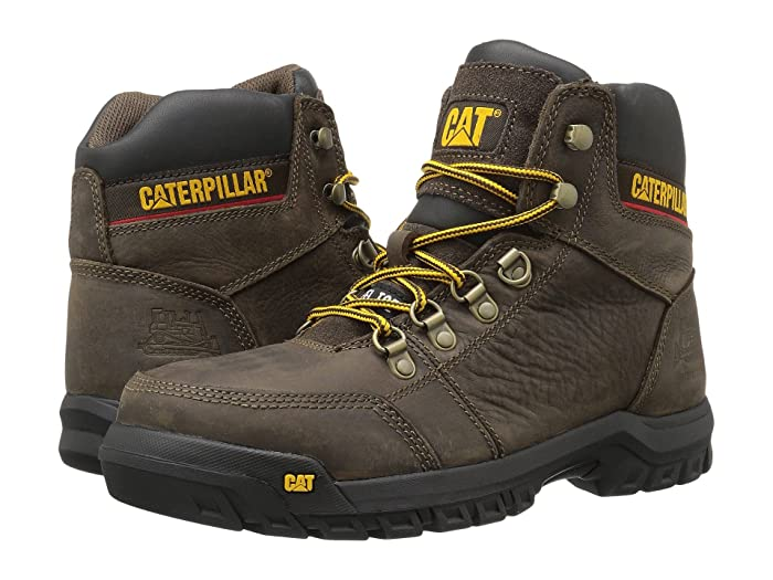 Caterpillar  Outline ST (Seal Brown) Mens Work Lace-up Boots