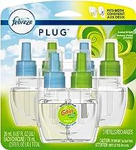 Febreze Plug In Air Freshener Scented Oil Refill, Gain Original Scent Set, 3 Count