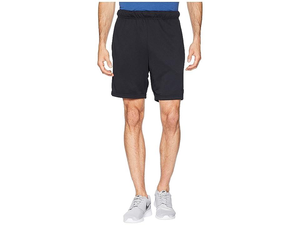 Nike Dry Fleece Hybrid Shorts (Black/White) Men