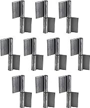Gedotec Deurscharnier voor lasband voor metalen deuren   lasscharnier hoogte 100 mm   DIN rechts   scharnier voor heavy du...