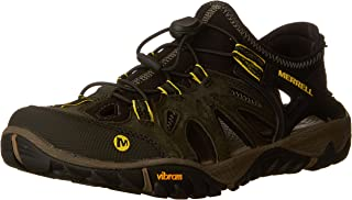Merrell Men's All Out Blaze Sieve Hiking Shoe Olive Night...