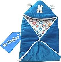 My Newborn Baby Blanket Multipurpose Sleeping Bag, Blue