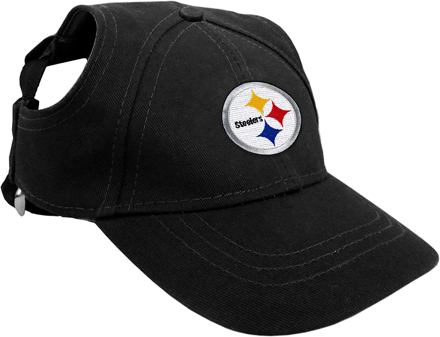 Littlearth NFL Unisex Pet Baseball Challenge the lowest price New Shipping Free Hat Ears for - and Holes