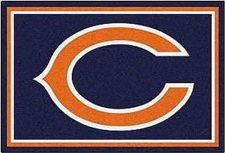 FANMATS NFL Chicago Bears Nylon Face 5X8 Plush Rug