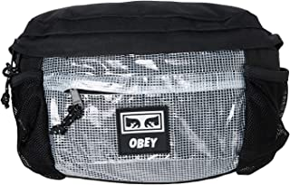 OBEY Men's Conditions Traveler Bag II, black, ONE SIZE