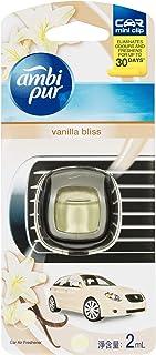 Ambi Pur Car Mini Clip Air Freshener Vanilla Bliss 2ml