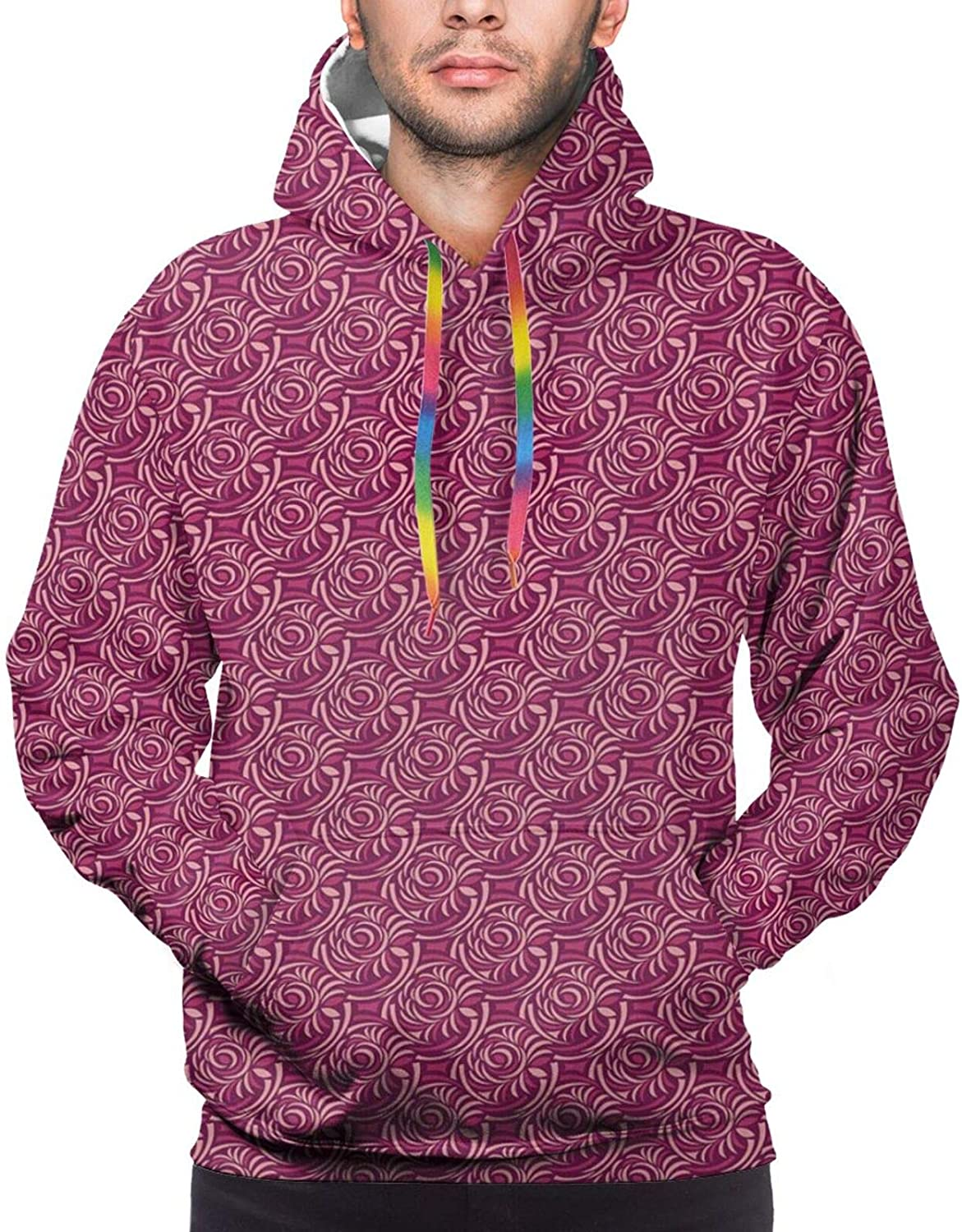 Men's Hoodies Sweatshirts,Abstract Dotted Background Electric Guitar Musical Instrument Design Rock