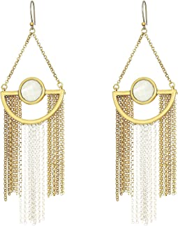 Lucky Brand - Chain Statement Drop Earrings