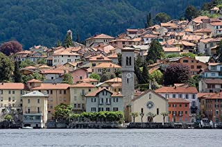 Lake Como Italy Wallpaper Wall Mural - Self-Adhesive - Multiple Sizes - National Geographic Image from Magic Murals