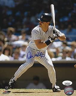 Autographed Don Mattingly New York Yankees 8x10 Photo with JSA COA