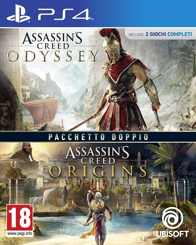 Compilation: Assassin's Creed Origins + Odyssey - PlayStation 4 [Importación italiana]