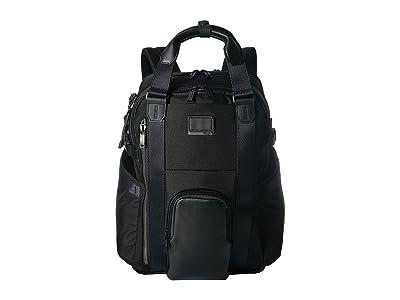 Tumi Alpha Bravo Kings Backpack Tote (Black) Backpack Bags
