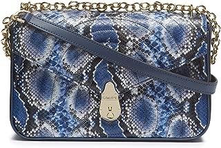 Calvin Klein Statement Series Lock Daytonna Leather Flap Convertible Shoulder Bag & Crossbody