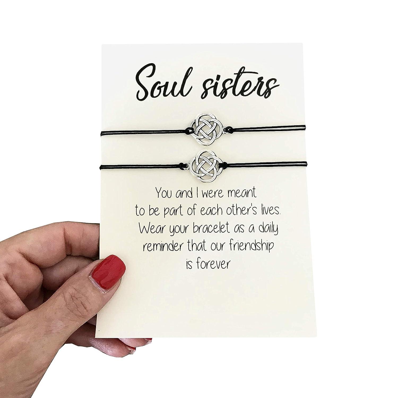 Minneapolis Mall Carrie Clover Soul Sister Best Gift Bracelet- Frien Ranking TOP4