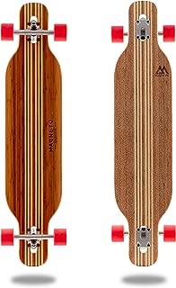Hana Longboard Collection | 42 inch Longboard Skateboards | Bamboo with Hard Maple Core | Cruising, Carving, Dancing, Freestyle (Renewed)
