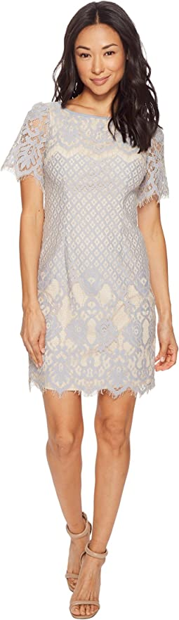 Petite Bell Sleeve Georgia Lace Sheath